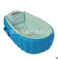 Wholesale Baby inflatable tub Inflatable baby shower basin Baby swimming pool