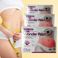 Wholesale 5pcs pack Wonder Patch MYMI Slim Patch Body Sculpting Slimming Belly Patches Gel Loss Weight Products Waist Slim Patches Gifts PX S04