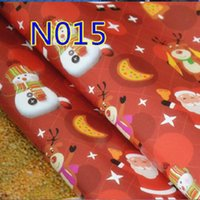 Wholesale 2016 xmas christmas Gift Present Wrapping Paper Roll Colorful Tissue Paper Book Wrapping Parper Party decortion Parper Flower Material
