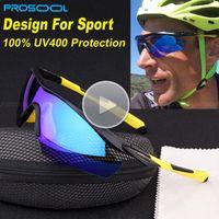 Man amber s - PROSOOL Sports Men s Sunglasses for Biking Fishing Running Driving Golf Sunglass Men Lentes Gafas Oculos De Sol UV400 New
