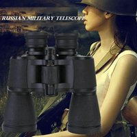 Cheap 20x50 High Power Military Binoculars Telescope 20 times Magnification Zoom with Case and Neck Strap for Sports Performing Hiking Hunting out