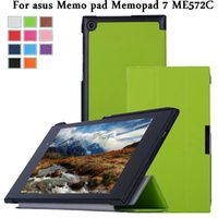 asus tablet cases and covers - leather smart case cover for asus Memo pad Memopad ME572C ME572CL ME572 quot tablet cover case with wakeup and sleep film stylus