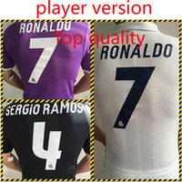 add pictures - Top quality player version imitation Real Madrid jersey default patch need to add custom please message and patch pictures pc DHL shiping