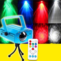 Auto strobe Green AUS LED Water Ripples Light LED Laser Stage Lighting Colorful Wave Ripple Shining Effect Disco Party Light With Controller Tripod