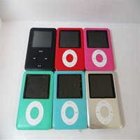 Wholesale 3TH MP3 MP4 Player GB GB TH quot LCD Media Video radio FM th Generation Colors fee shipping