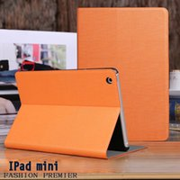 Wholesale 7 inch PU PC Drop anti dust shockproof leather case For Appple iPad mini123 tablet leather case Protection Shell