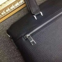 Wholesale Quality goods news famous Designers genuines leather men s Briefcase Bags high quality Business men bag brand shoulder bag for