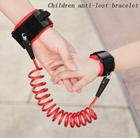 Wholesale Kids Safety Wristband Wrist Link Toddler Harness Leash Strap Anti Lost Bracelet Adjustable Baby Outdoor Anti Lost Belt