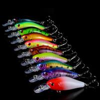 Wholesale New colors Fishing Lure Isca Artificial Hard Crank Bait Wobblers Mini Fishing Crankbait lures CM G fishing hooks