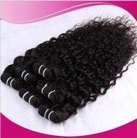 7A El pelo humano, sombra del pelo de la belleza, onda profunda se diseña para los fabricantes de la belleza hace la alta calidad y la venta al por mayor del precio bajo 100 gramos