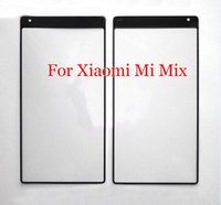 Wholesale 10 Xiaomi Mi MIX Outer Glass Cover Replacement for Xiaomi MIX touchscreen Outer Screen Glass Mi Mix Touch Screen