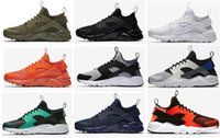 Wholesale Top Quality Men Casual New Huarache Trainer Chukka Black White Blue Grey Lightweight Breathable Walking Hiking Shoes