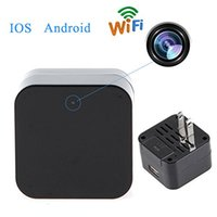 adapters wireless camera - New P WIFI IP Mini Spy Charger Camera Real Wall AC Plug Charger NO hole Wireless Security Nanny Spy Camera Adapter