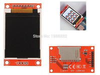 arm color lcd - WS16 quot SPI Serial Color IO port TFT LCD Display module PCB Adapter w SD Socket ST7735S AVR STM32 ARM bit