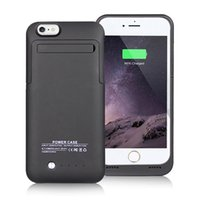 Wholesale Customized Ultra Thin Battery Bank Case For iPhone Power Bank Case CE FCC rohs Charging Case