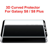 Écrans pour galaxie Prix-Pour Galaxy S8 S8 Plus Protecteur d'écran en verre trempé à l'avant et à l'arrière avec un emballage de détail 30pcs / up