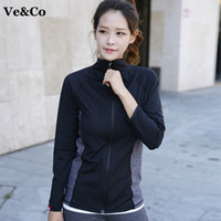 Wholesale Autumn Winter Women Long Sleeve Running Jacket New Fitness Women Sport Coat Polyester Quick Dry Breathable Running Jacket