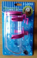 ball drip valve - Pet Dogs Cats Water Feeder Stainless Steel Nozzle No Drip Valve with Ball Tip Hanging on Pet Cage Dogs Cats Waterer Drinking Bottle ml
