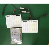 Wholesale DC12V X2W Telescopic LED Fishing Rod light DIY Car Light Emergency Portable Light With IR Remote