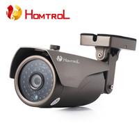 Wholesale Homtrol HT MP p HD CCTV Câmera IP WIFI Onvif P2P para Smartphones IP À Prova D Água e Oi alimentado RI Negro LEVOU