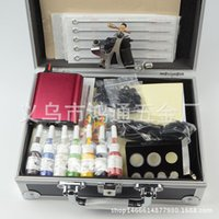 Wholesale Simple single tattoo machine suits the tattoo machine suits full set of tattoo equipment for beginners