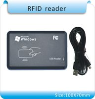 Wholesale kinds output format flat casing MHZ NFC reader IC Card Reader for Mi fare Usb port white cards