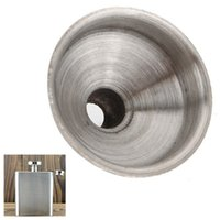 Wholesale 1PCS mm Stainless Steel Funnel for All Kinds of Hip Flask Wine Pot Filler MD835