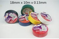 Wholesale Kind Color M Vinyl Electrical Tape mm x m Insulation Adhesive Tape