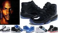 achat en gros de lune d'or-Chaussures de basket-ball de rétro 11 XI 11S chaudes des femmes des hommes 11s Chaussures d'athlétisme d'atterrissage d'atterrissage de lune de Concord Xs de chaussures 5-7-9-12