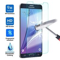 Wholesale For Samsung galaxy S7 C5 C7 Samsung Note4 Note5 Note3 S6 S5 S4 mm D curved edge HD Screen Tempered Glass Screen Film Screen Protector