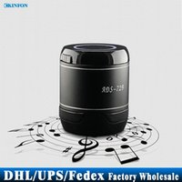 audio ads - Free DHL Fedex wireless Mini Bluetooth Speaker ADS B Hands free Portable Subwoofer Speaker Music Palyer