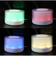aroma lamp - 500ml remote control Aroma Essential Oil Diffuser Ultrasonic Air Humidifier with Timer Settings Color Changing LED lamp