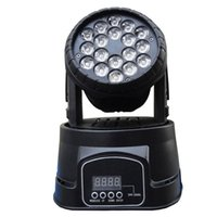 Wholesale Fast Shipping x3w RGB CREE LED mini Moving Head Light Moving Head Wash Light For Event Disco Party Nightclub