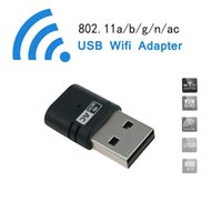 Wholesale Network card AC Mbps Dual Band WiFi USB Adapter Maximum Speed up to G Mbps G Mbps Wireless Network wifi dongle