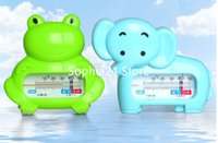 Plastic bath tub design - 30PCS Baby Kids Toddler Bath Room Bath Tub Thermometer Safety Floating Measure Water Temperature Frog Elephants Design
