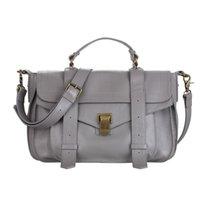 al por mayor bolsa de ps1-Chica PS1 primera capa de bolsos de cuero retro británico bolsas de mensajero bolsa de cuero hombro Messenger