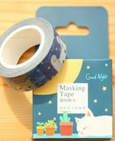Wholesale 2016 HAND TEAR TAPE SINGLE SIDED ADHESIVE COLOR TAPE