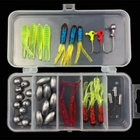 Leurres soft appâts plombs de pêche tête de plomb combinaison de pêche crochet pêcher crochet grimper pêche accessoires