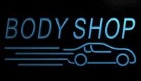 auto body shops - LS1670 b Body Shop Auto Car Display NEW Neon Light Sign jpg