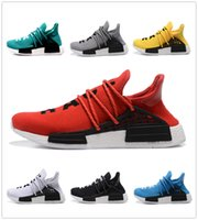band races - with original box NMD Human Race Runner Boost Pharrell s Runner and Trainer sneaker Running Shoes Williams Pharrell men women for