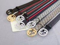 Wholesale fashion gg belt new hip brand buckle l designer belts for men women genuine leather gold cinto ff belt v Men s belt v Men s