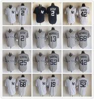 Wholesale Men s Home White Cano Grey Jersey Baseball Jerseys New York NY Yankees Jerseys Derek Jeter Jacoby Ellsbury all players
