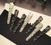 agate buy - China bought tiara diamond edge clip bang Chinese version temperament duckbill to joker clip hairpin a word