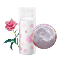 Wholesale Beautiful d rose cleansing foam cleanser hydrating Deep clean skin cleaning rose drop shipping acceptable hot sell