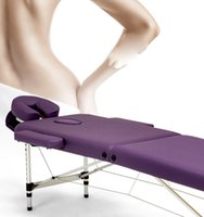 Wholesale High Quality Health and Beauty Massage Treatment Table Section Folding Massage Table in Health Beauty Service