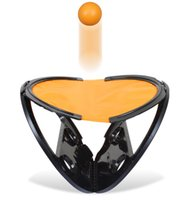 Juguete de la raqueta de tenis Baratos-Agarrar la Pelota Raqueta tenis de mesa Juguete Deportivo ejercicios Grasping Ball Moda al aire libre Indoor Fitness Deportes Raqueta Juguete Beach Ball + B