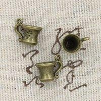 antique teacups - Cents Charms teacup mm Antique Making pendant fit Vintage Tibetan Bronze DIY bracelet necklace