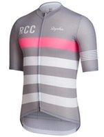 Wholesale Summer Polo RCC rapha Shirt Men Sports Wear Road Mountian Aero Racing T Shirts Quick Dry Switzerland Riding Tops Race Gear