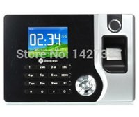 Wholesale Realand A C071 TCP IP Biometric Fingerprint Time Clock Recorder Attendance Employee Electronic English Punch Reader Machine