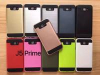 apple cams - Brushed Hard PC Soft TPU Hybrid Case For LG V20 X Cam Stylus2 LS775 Galaxy J5 Prime ON5 J7 Prime On7 Armor Rugged Shockproof Skin